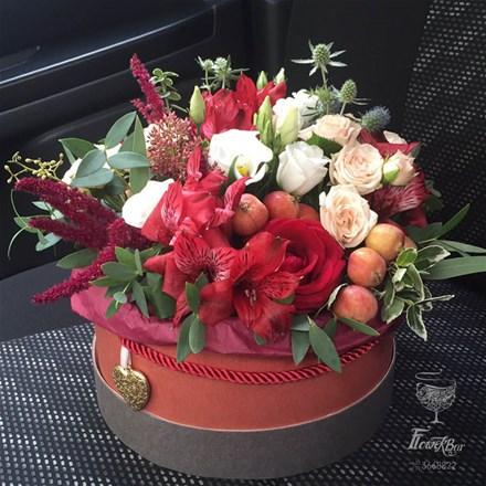 Коробка с цветами ROYAL S095