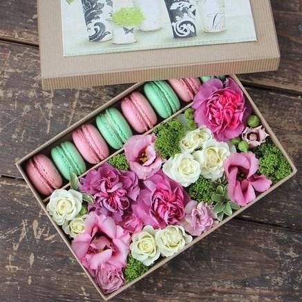 """Коробка-сюрприз """"FlowerBox"""" Q079"""