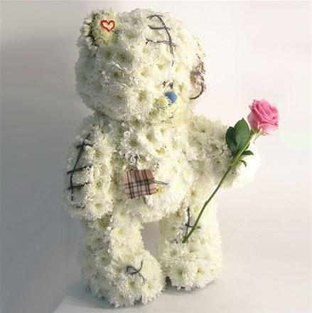 """Мишка из цветов """"Teddy"""" A067"""