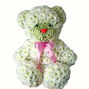 """Мишка из цветов """"Teddy"""" A076"""