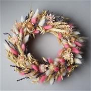 Декоративный венок из сухоцветов N017