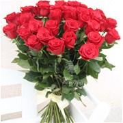 Букет из 51 красной розы B003