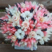 Шляпная коробка из сухоцветов N009