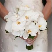 Свадебный букет из орхидей Е114