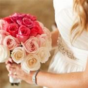 """Свадебный букет из роз """"Ombre"""" Е108"""