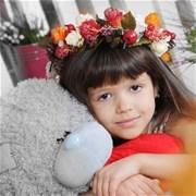 Венок из цветов на голову F012